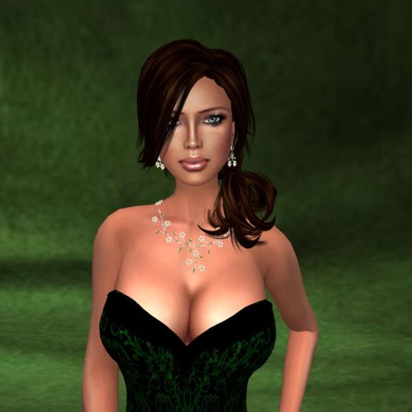 Close-up- Ezura Gown, Katink backdrop, Ma Vie pose 8
