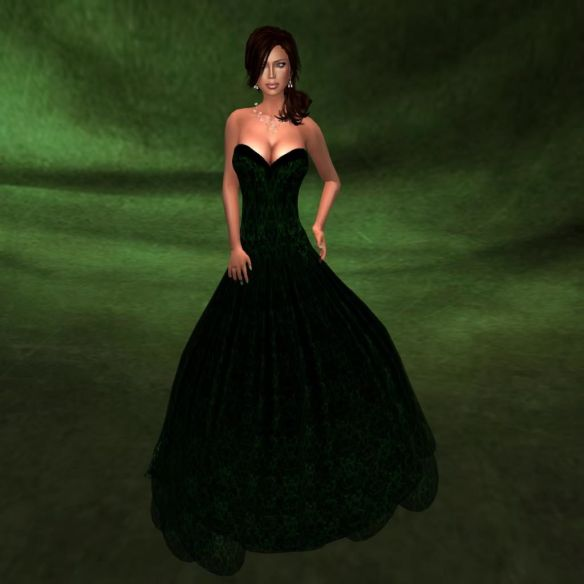 Ezura Gown, Katink backdrop, Ma Vie pose 8