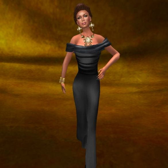 Full- Dulce Secret Skin, Dragon Lady Closet gown, Finesmith jewlery, Katink backdrop & Morgane pose