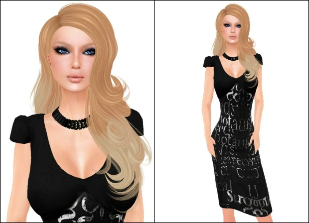 Belleza Leila 1 (Pale skin) & K Collection Piece of Me dress