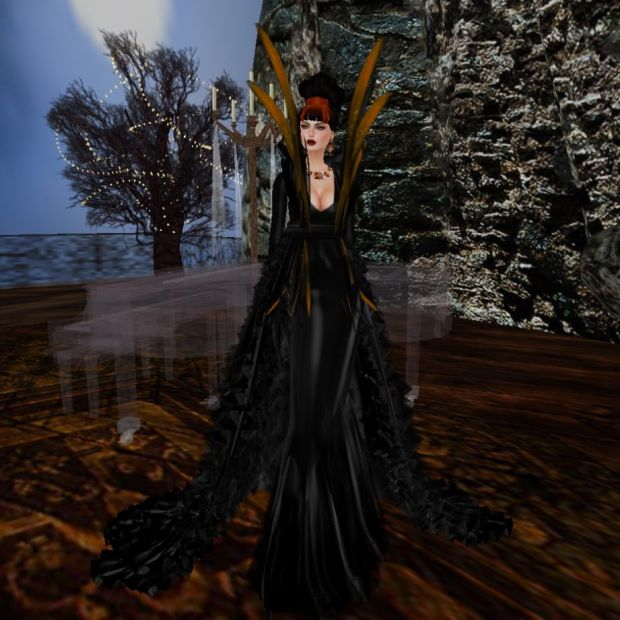 PM Linnda Gown (Halloween Group Gift)