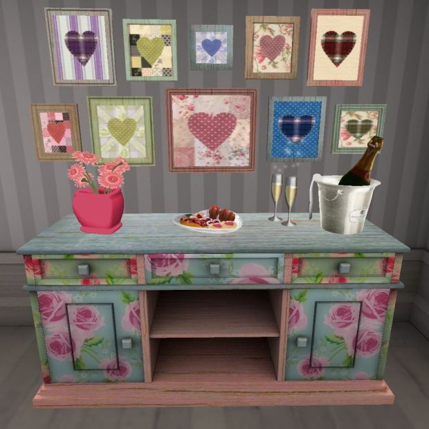 Jan:Feb '14-Thaino Designs Floral Sideboard