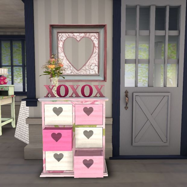 Jan:Feb '14-XOXO table & Sign (Thaino Designs)
