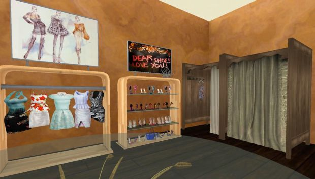 Cleo Designs Fitting Rooms