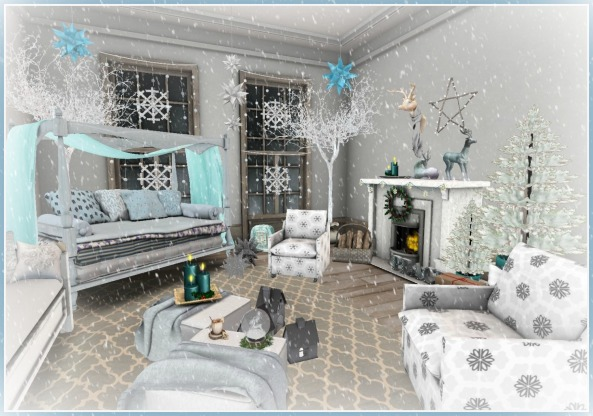 Icy Princess Bedroom FR