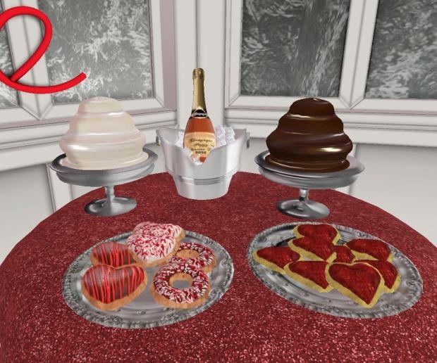 Aphrodite Shop-Dessert Table #2