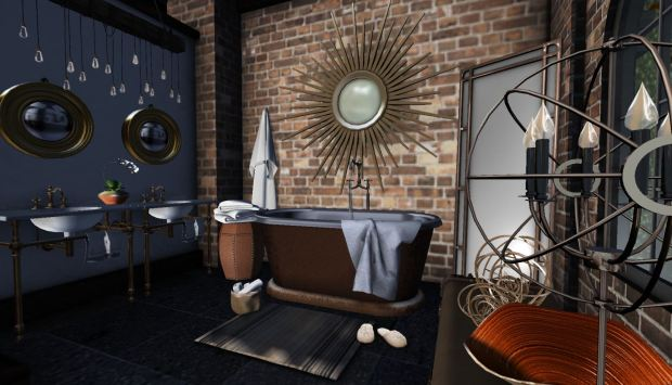 Autumn Glow Bathroom Darket