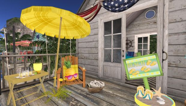 Lemonade Hut- Deck