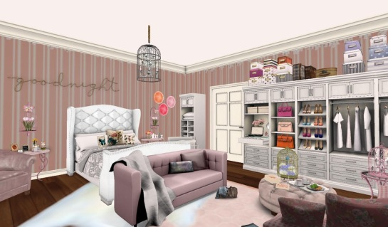 Goodnight Bedroom w:closet (H&G Expo 2016)